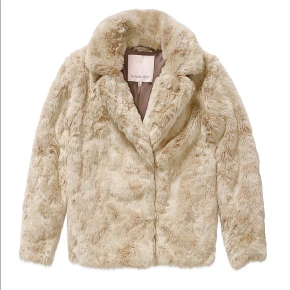 Aritzia Jackets & Blazers - Aritzia Faux Fur Coat from Sunday Best, Size M
